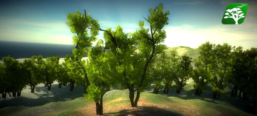Realistic Tree Pack 2 (Corylus Avellana) by RakshiGames