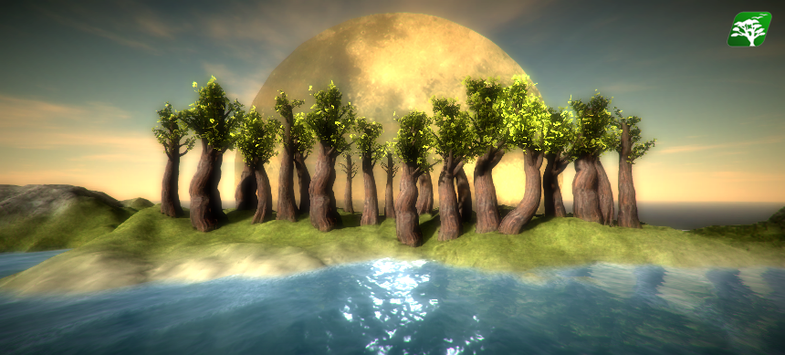 Realistic Tree Pack 4 (Red Wood) by RakshiGames