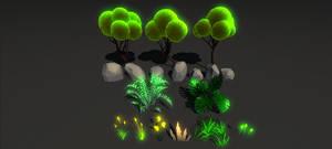 Stylized Forest by RakshiGames