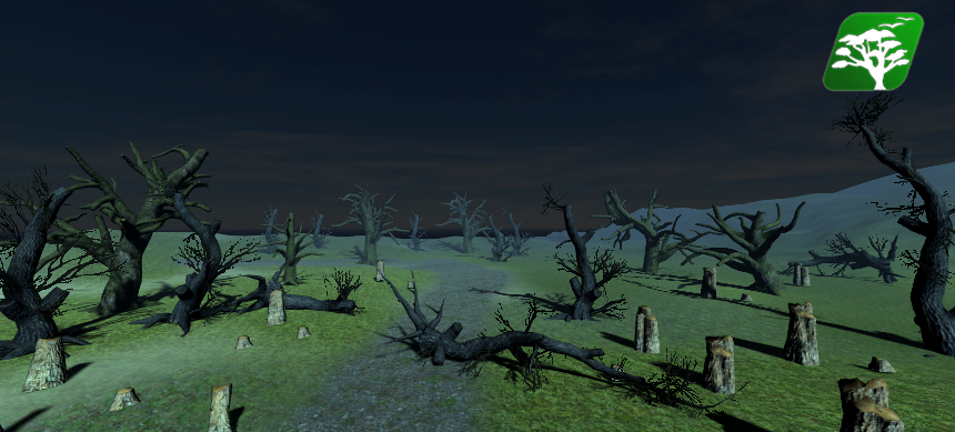 Destroyed Trees Pack by RakshiGames
