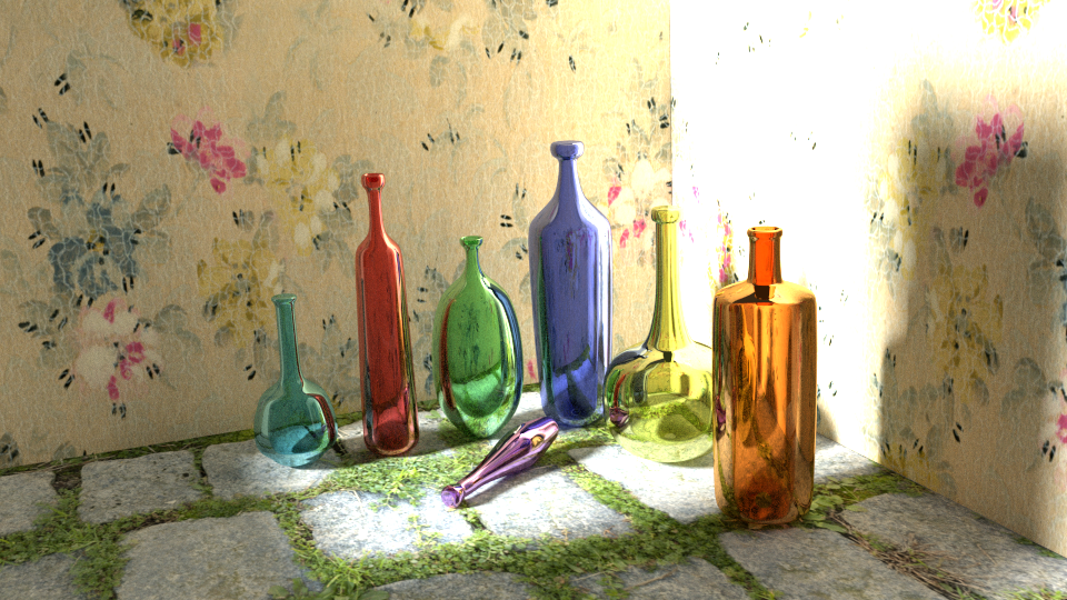 Glass Bottles by RakshiGames
