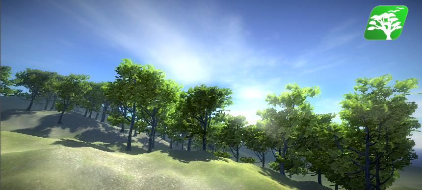 Realistic Tree 9 [Rainbow Tree] by RakshiGames