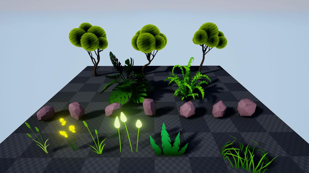 StylizedForest by RakshiGames