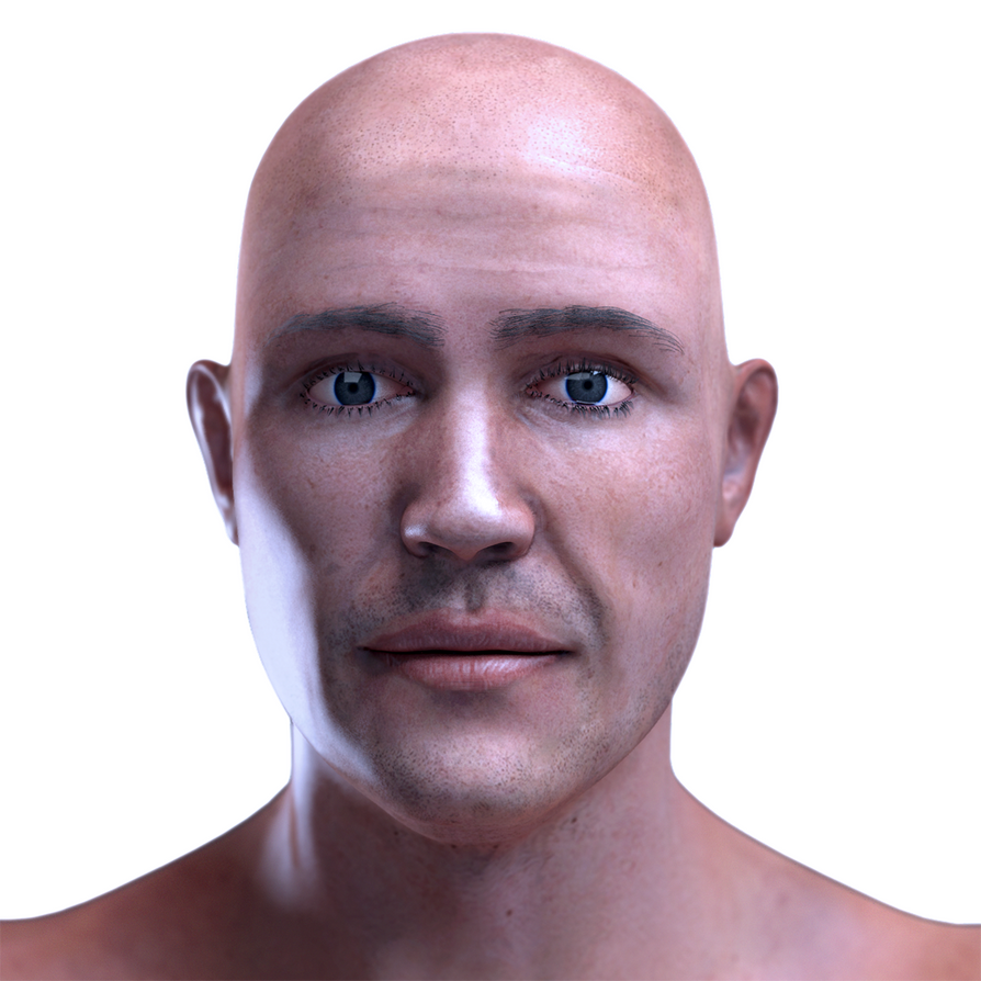 Hyper Realistic Male Human by RakshiGames