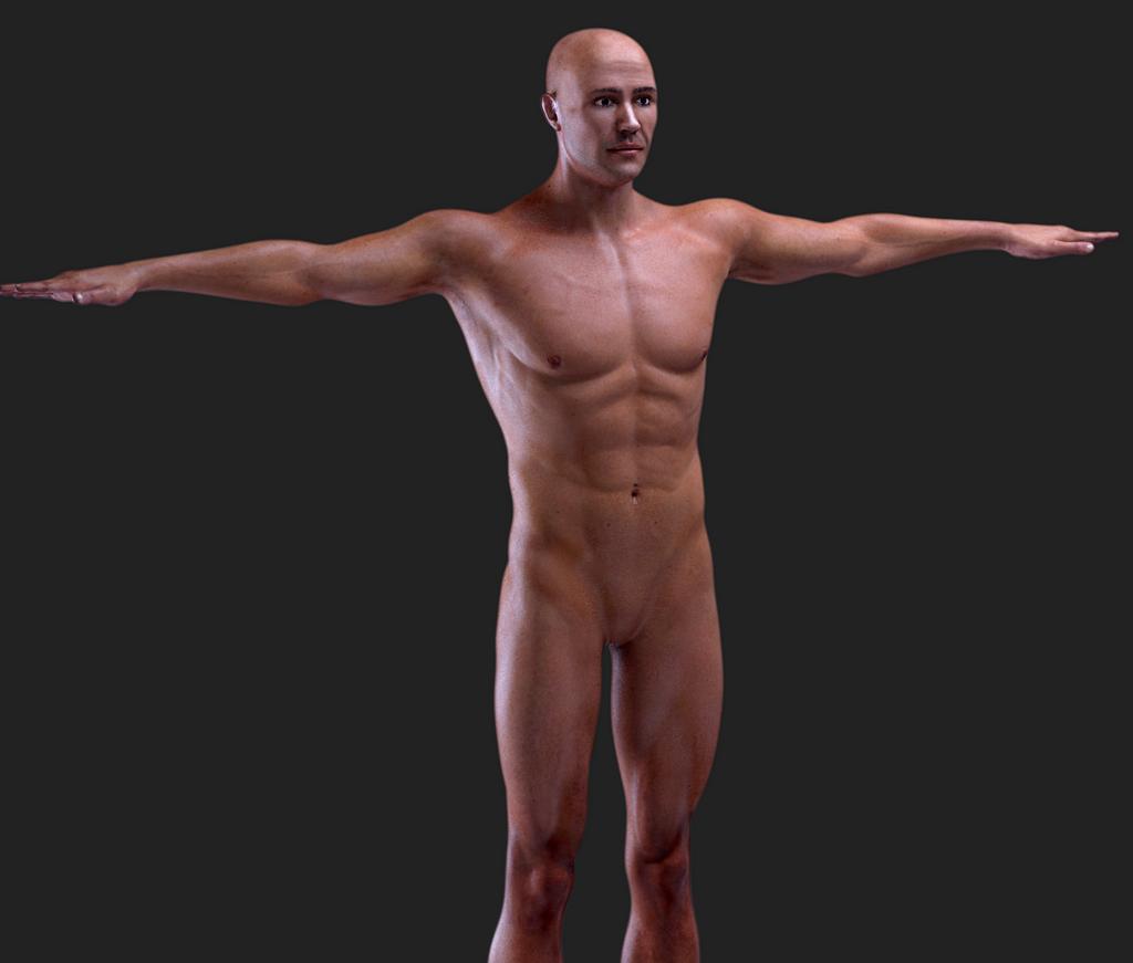 Hyper Realistic Male Human by RakshiGames
