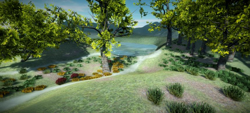 Realistic Tree 11 by RakshiGames