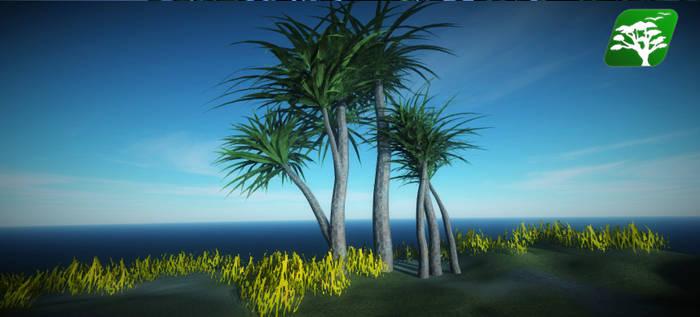 Realistic Tree 16 [Dracaena]