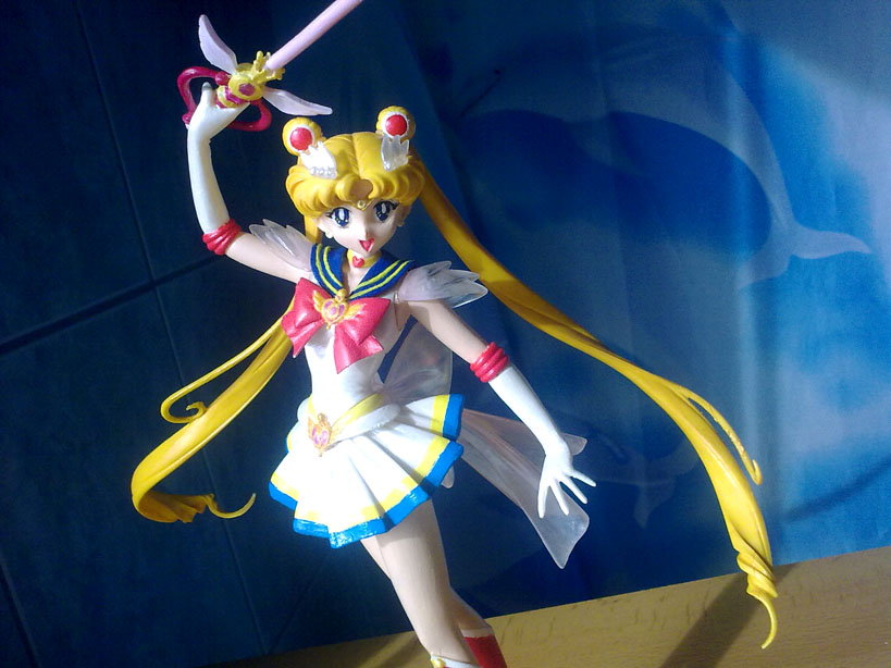 Super Sailor Moon 1:8 by MutoSizuka
