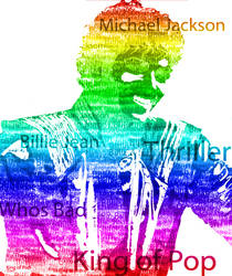 Day 2 - Typography - Michael Jackson by DumDeeDoo