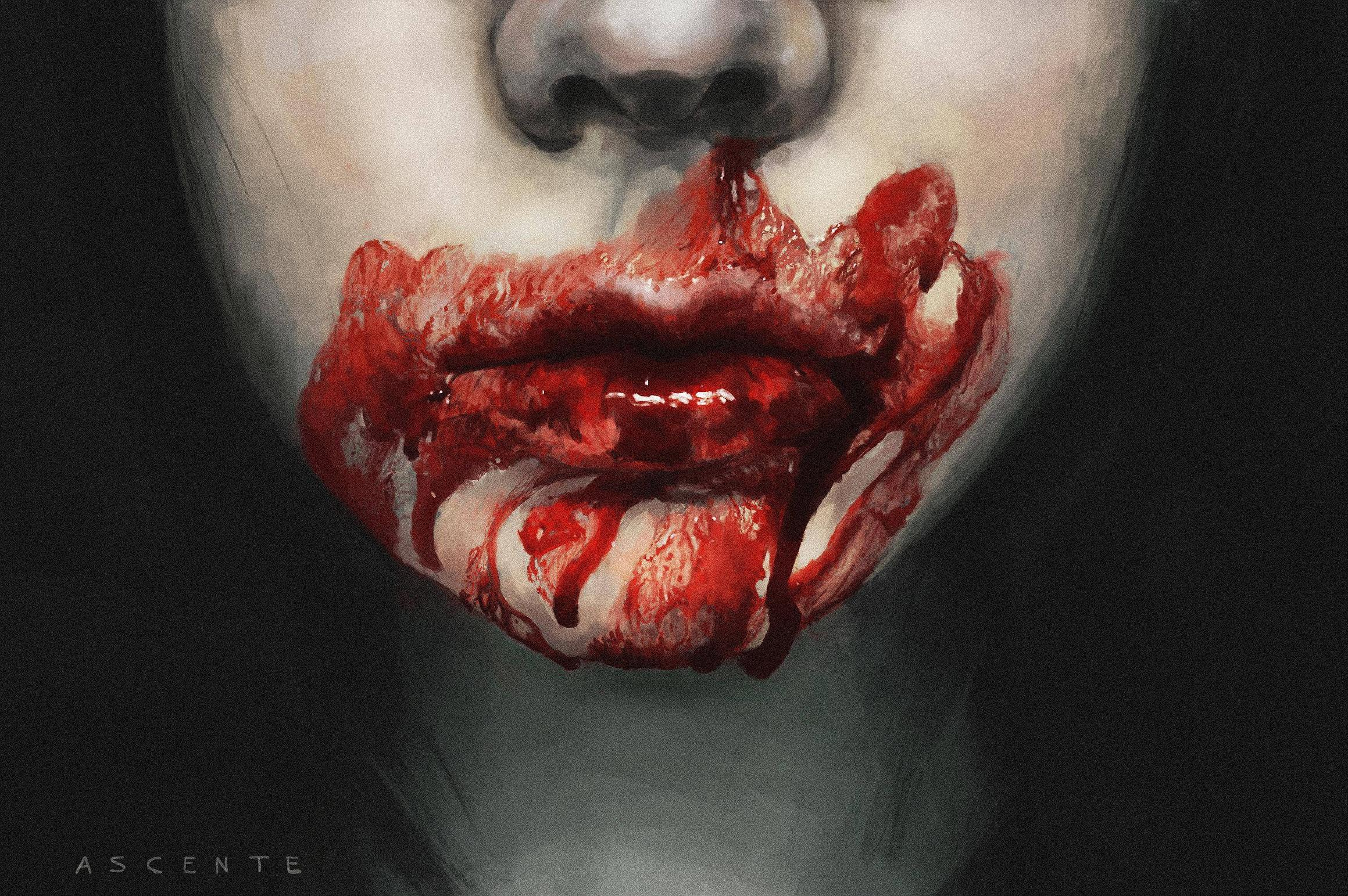 Blood Painting For Sale