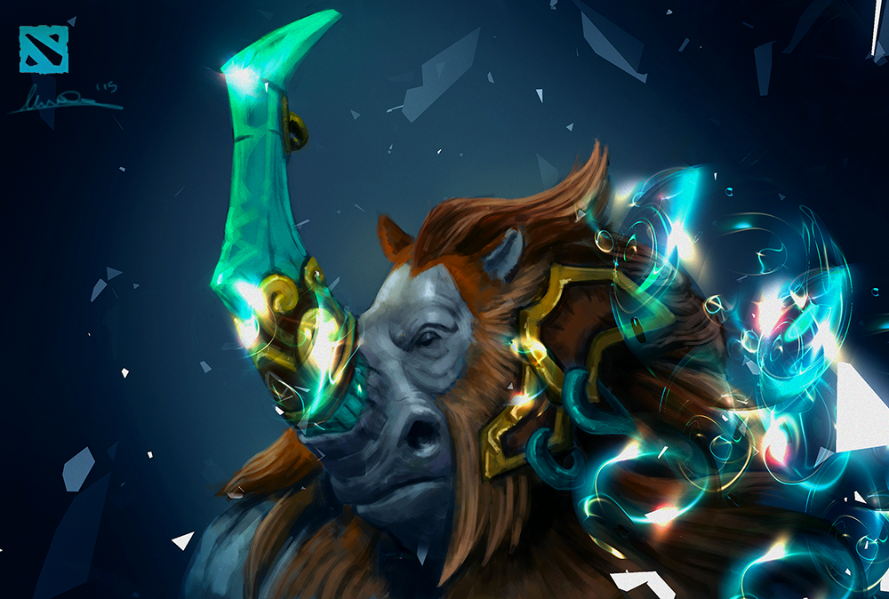 magnus dota 2 fan art by matteoascente on deviantart