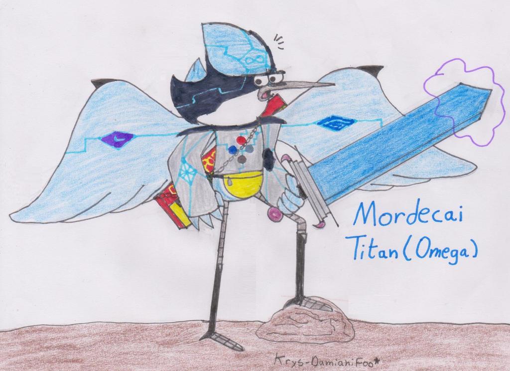 Mordecai _Titan Omega_ by Krys-DamianiFoo