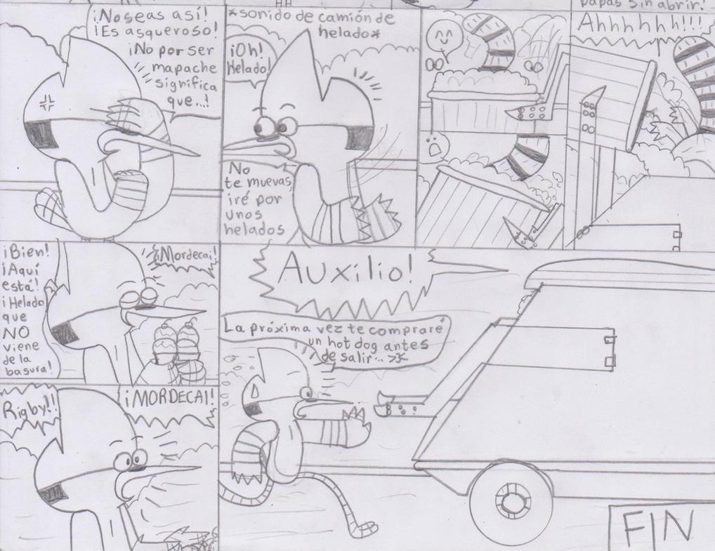 The Trash-Raccoon Part 2 by Krys-DamianiFoo