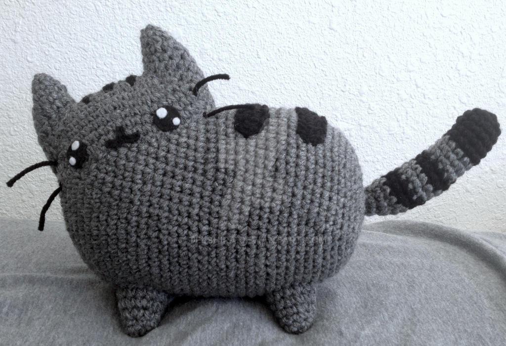Amigurumi De Pusheen : Pusheen the cat by telshira on DeviantArt