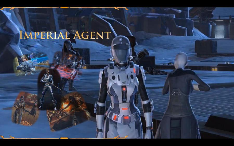 Imperial Agent Wallpaper By Darthxrevan On Deviantart