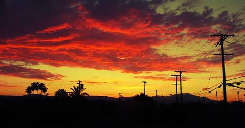 Fiery Skies by xToxicScreamx