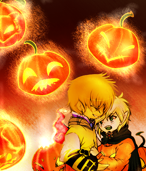 RS pumkin carving [halloween event] by Pikachim-Michi