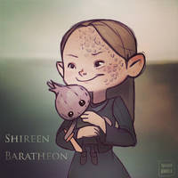 Shireen Baratheon by vg-heart