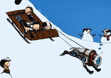 zweivent 1 no. 2 - sledding by rabbitzoro