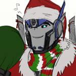 Optimus - Santamus Prime