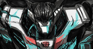 Wheeljack - out with a smile