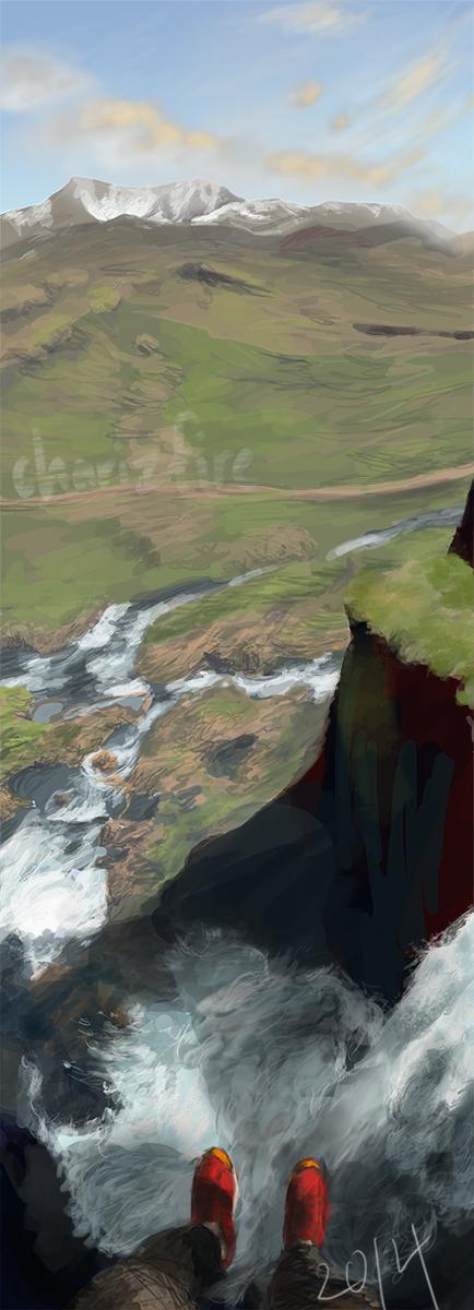 Fall Water Fall by charizfire