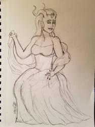 The Empress - Marion Lavorre (Pencils)