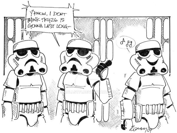 Stormtrooper Cartoon By Rollsy71 On Deviantart