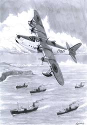 Short Sunderland flyingboat by rollsy71