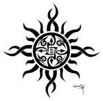 Tattoo 2 - Tribal Sun