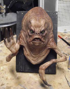 Waving alien