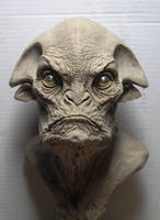 Alien clay sketch by BOULARIS