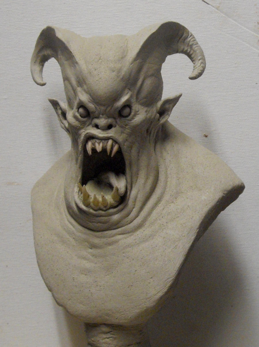 Demon Bust. by BOULARIS