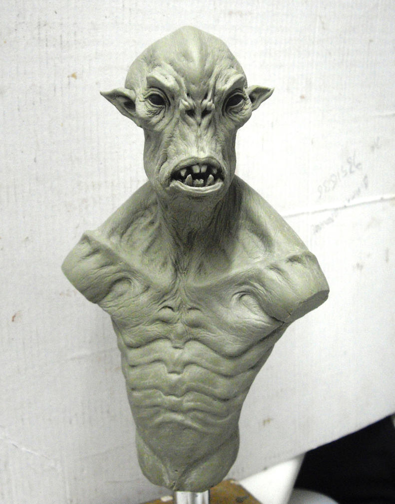 ALIEN bust WIP by BOULARIS