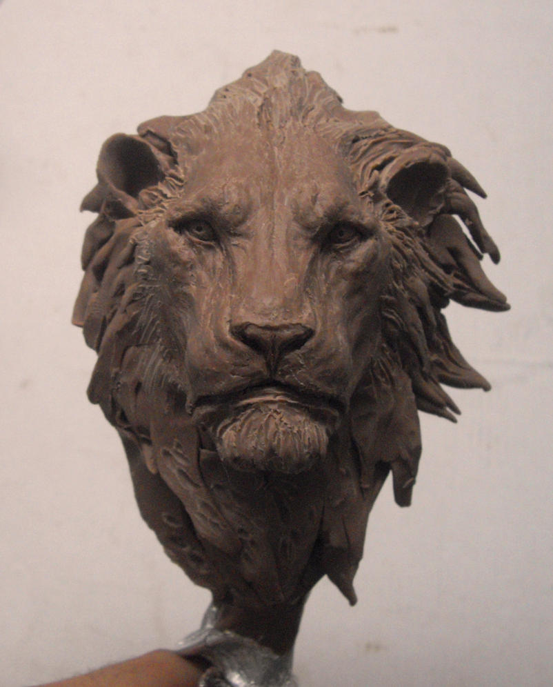 Lion wip by boularis on deviantart