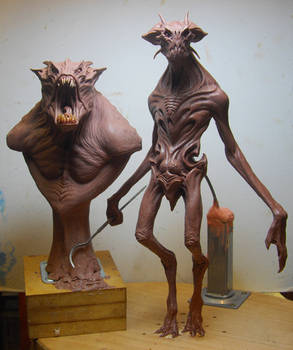 New alien maquette
