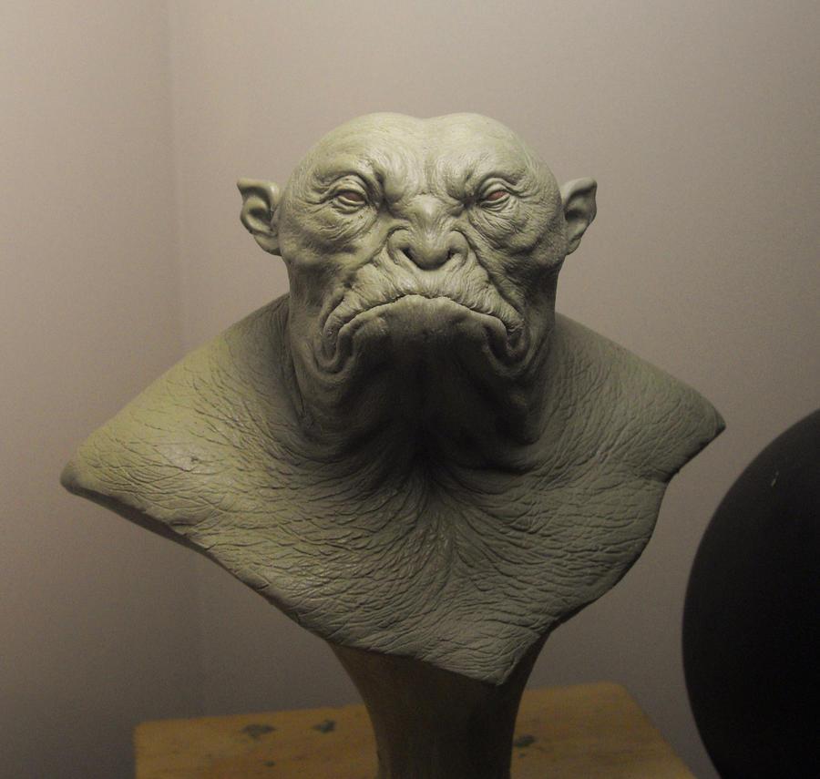 Yeti-troll bust by BOULARIS