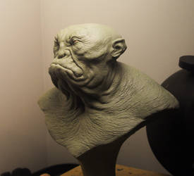 Troll-yeti bust 2 by BOULARIS