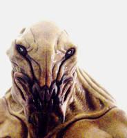 Alien bust by BOULARIS