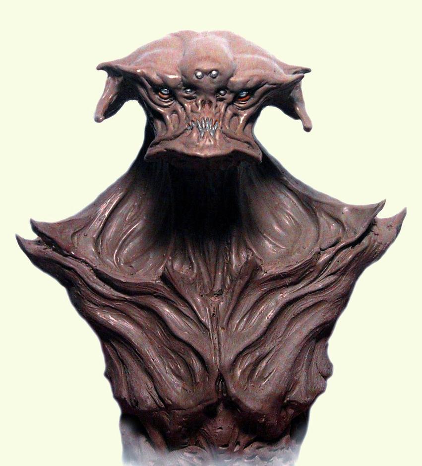 alien bust crust. by BOULARIS