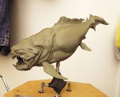 prehistoric underwate predator