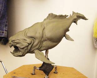 prehistoric underwate predator by BOULARIS