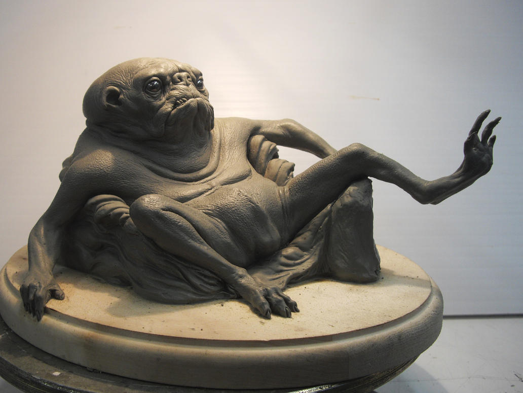 pug creature w by BOULARIS