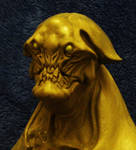 Alien bust shroom head