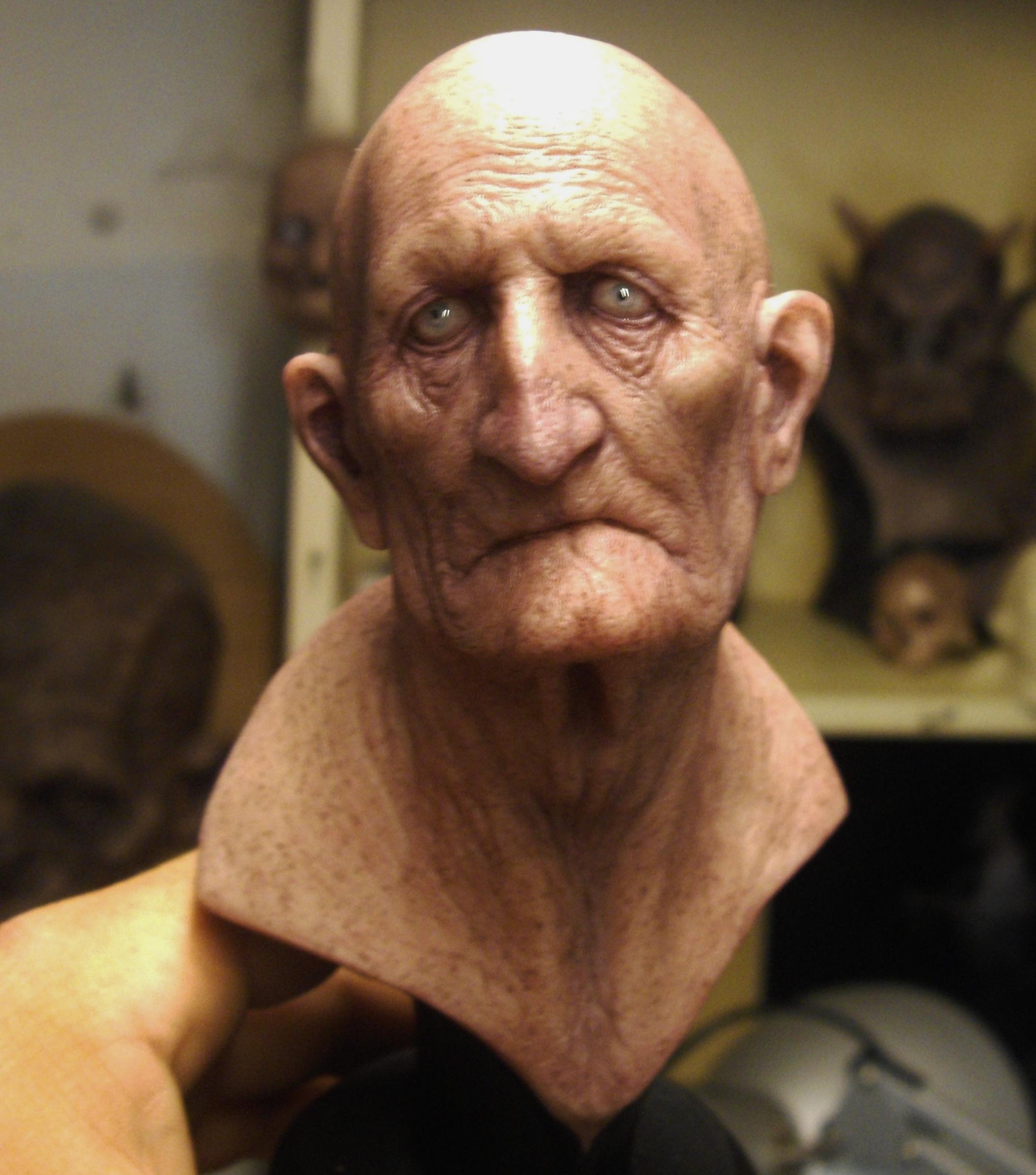 Old man by BOULARIS