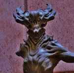 Demon bust.
