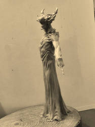 Demon full body maquette. by BOULARIS
