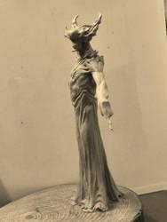 Demon full body maquette.