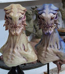 alien busts