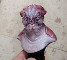 crab alien painted